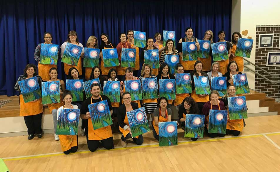 St Joachims College Painting Class